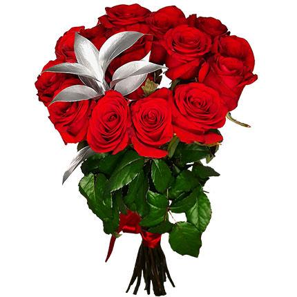 """Срібна колекція """"15 червоних троянд""""  - придбати в Україні"""