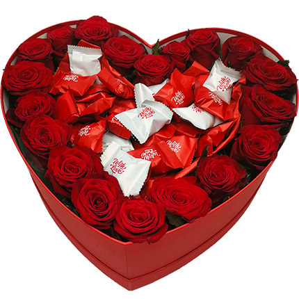 "Flowers in a Box ""To Beloved""  - buy in Ukraine"