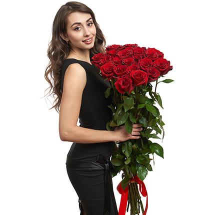 25 метровых роз  - купить в Украине