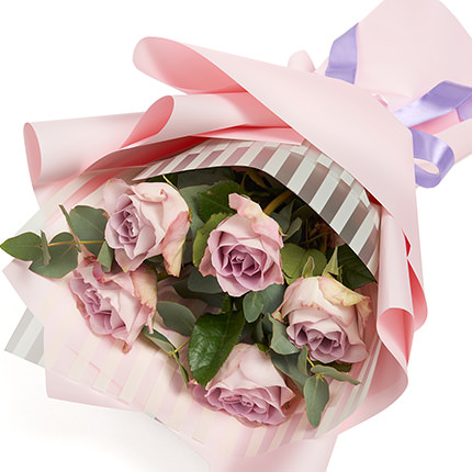 "Bouquet of 5 roses ""Memory Lane""  - buy in Ukraine"