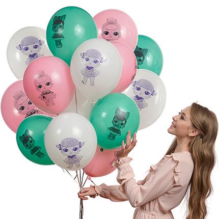 """Коллекция шариков """"Куколки""""  - купить в Украине"""