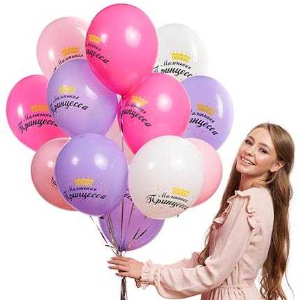 """Коллекция шариков """"Принцесса""""  - купить в Украине"""