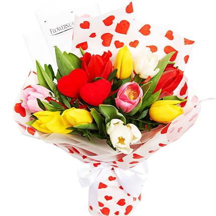 "Bouquet ""Congratulations, with love ...!""  - buy in Ukraine"