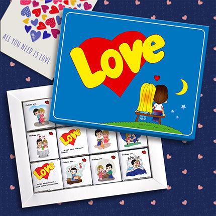 """Шоколадный набор """"Love""""  - купить в Украине"""