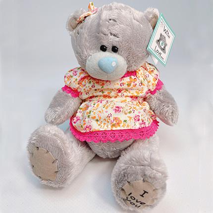 """Soft toy """"Teddy bear"""" (girl)  - buy in Ukraine"""