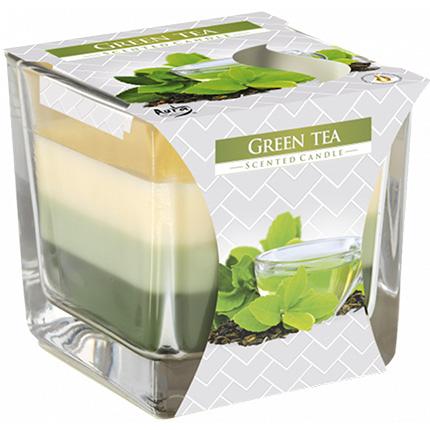 "Three-layer candle ""Green tea""  - buy in Ukraine"