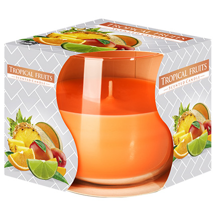 """Single-layer candle """"Tropical fruits""""  - buy in Ukraine"""