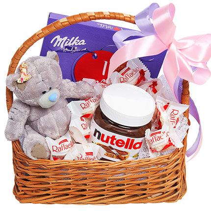 "Gift basket ""For the sweetest""  - buy in Ukraine"