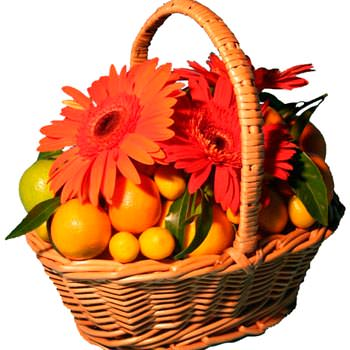 "Fruit basket: ""Sunny moment""  - buy in Ukraine"