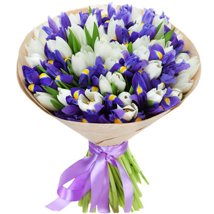 "Bouquet ""Silver""  - buy in Ukraine"