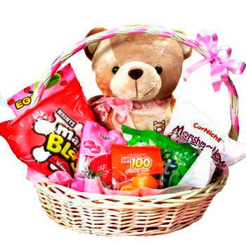 "Gift basket ""Sweet Bear""  - buy in Ukraine"
