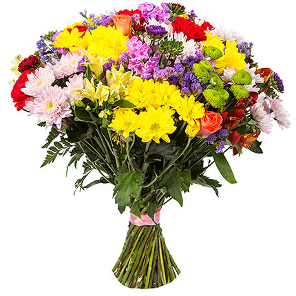 "Bright bouquet ""Artist's colours""  - buy in Ukraine"