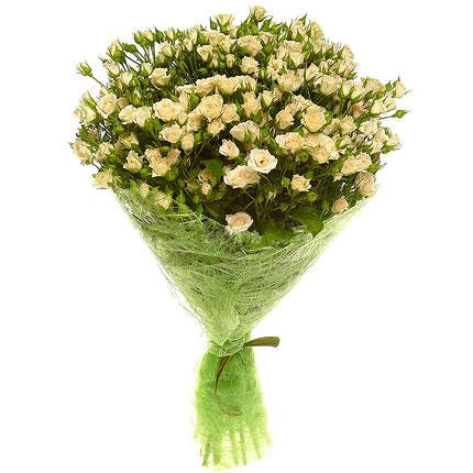 "Bouquet of spray roses ""Mother of Pearl""  - buy in Ukraine"