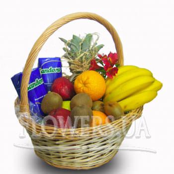 """Кошик фруктів """"Будьте здорові""""  - придбати в Україні"""