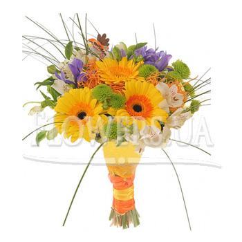 Збірний букет квітів  - придбати в Україні