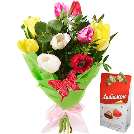 "Bouquet ""Sign of love""  - buy in Ukraine"
