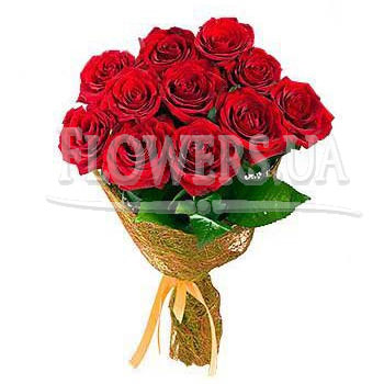 Bouquet of red roses  - buy in Ukraine