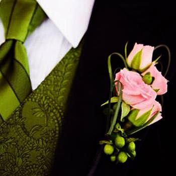 "Boutonniere ""Pearl""  - buy in Ukraine"