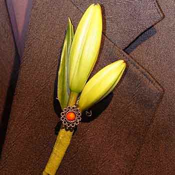 "Boutonniere ""Cupid's arrow""  - buy in Ukraine"