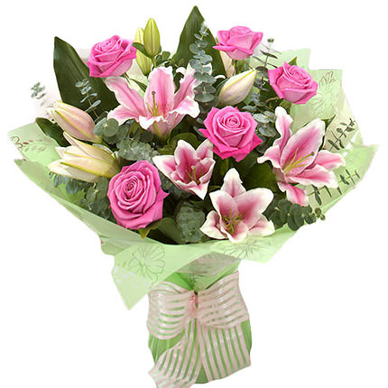"Romantic bouquet ""Pink Dream""  - buy in Ukraine"