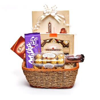 "Gift basket ""Pleasure""  - buy in Ukraine"