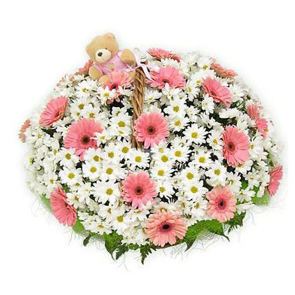 "Basket ""Camomile field""  - buy in Ukraine"