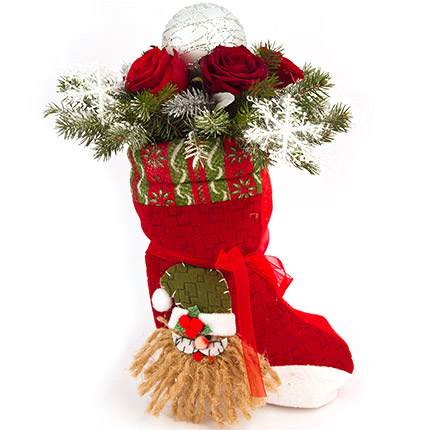 Bouquet from Santa Claus  - buy in Ukraine