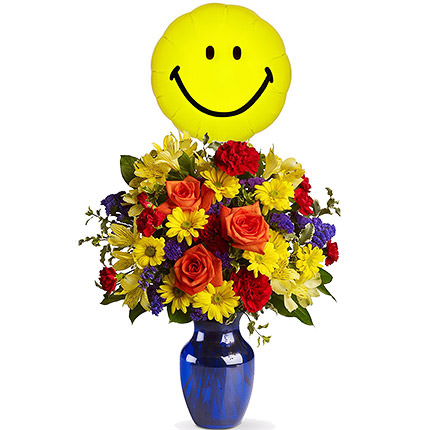 "Bouquet with balloon ""The Holiday""  - buy in Ukraine"