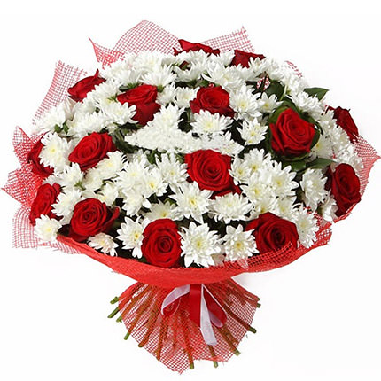 "Bouquet ""The Contrasts of Love""  - buy in Ukraine"