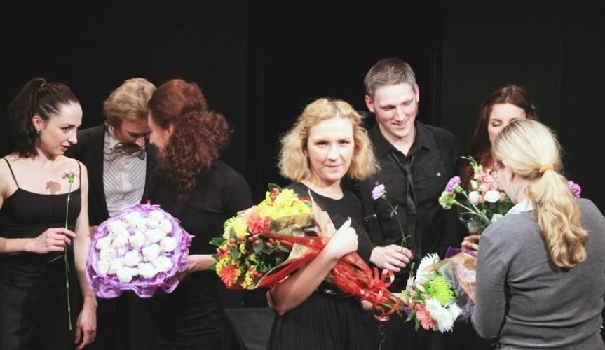 цветы после спектакля