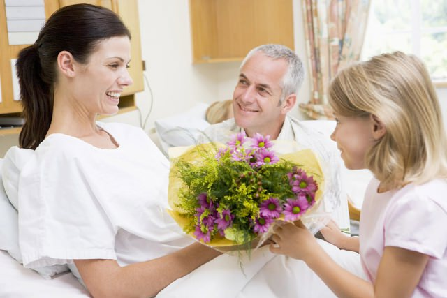 цветы в больницу