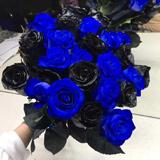 Правда про сині та чорні троянди