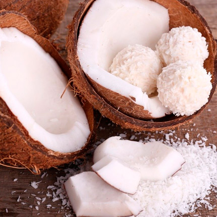 Насколько калориен кокос?