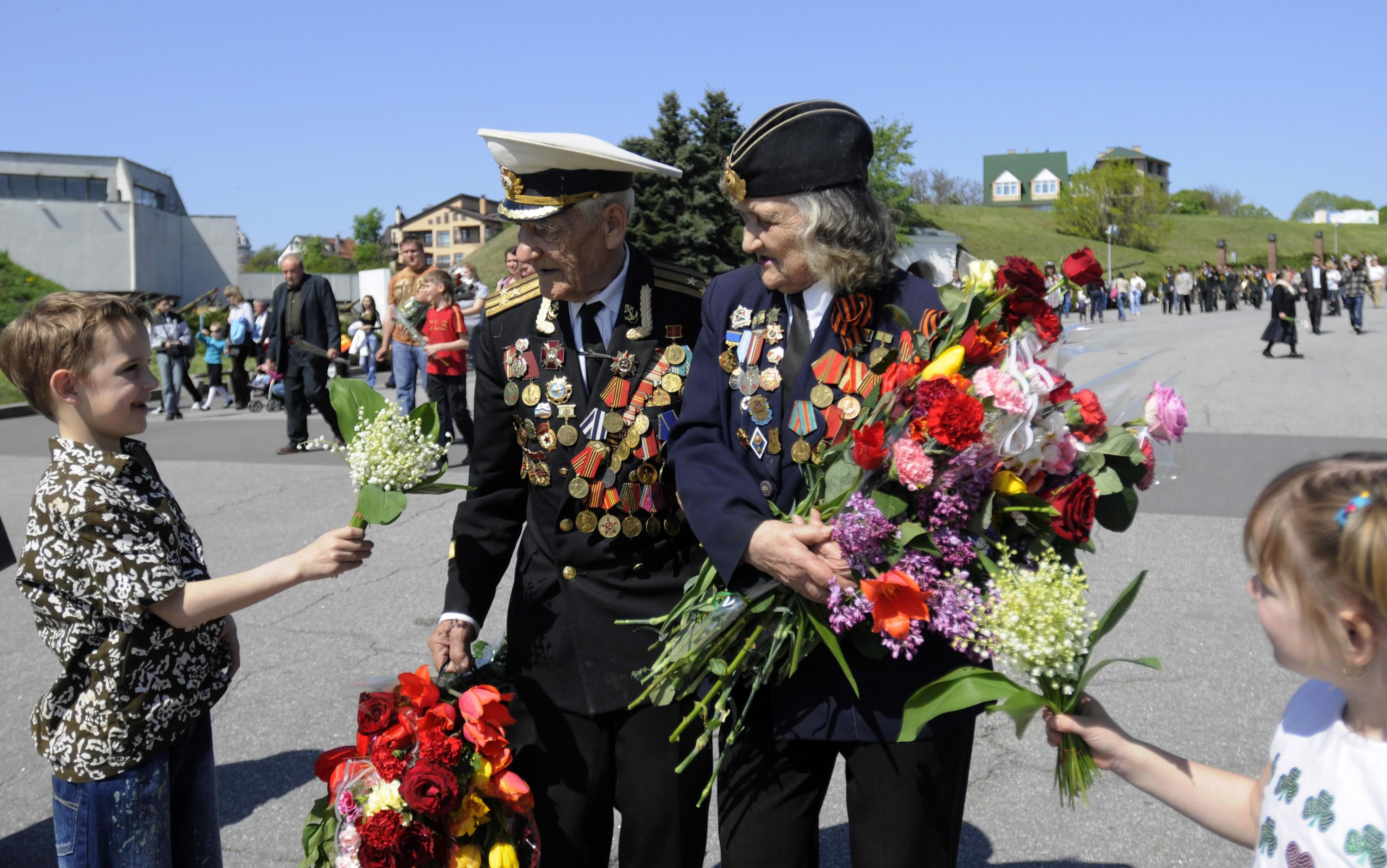 цветы на 9 мая
