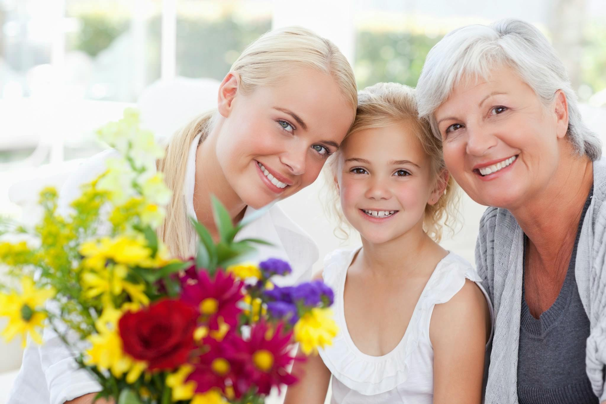 букет для бабушки