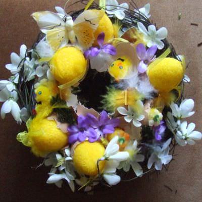 какие цветы дарить на Пасху