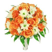 свадебный букет Апельсин
