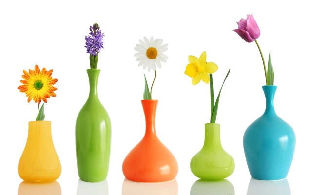 какие бывают вазы для цветов