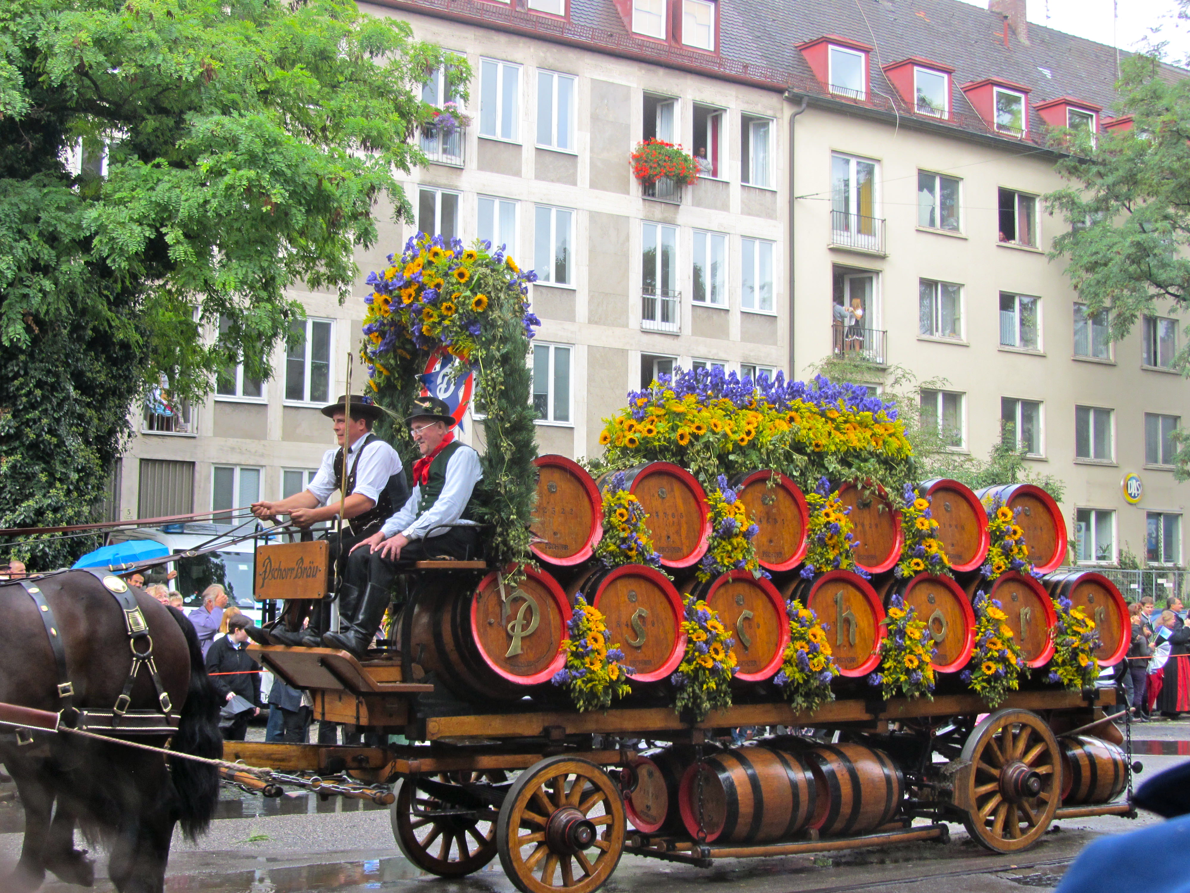 цветы в Германии
