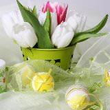 Какие цветы подарить на Пасху: советы флористов