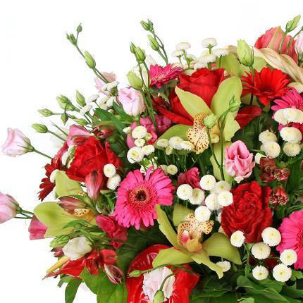 "Flower Basket ""Luxury"" - delivery in Ukraine"