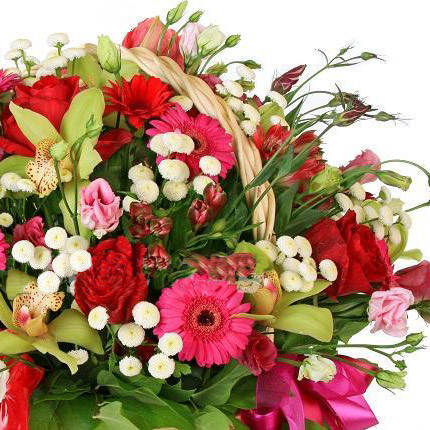 "Flower Basket ""Luxury"" - order with delivery"