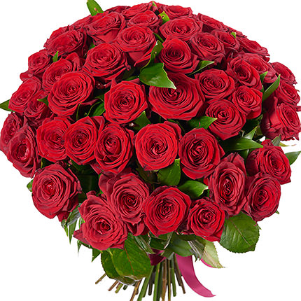 51 red roses - delivery in Ukraine