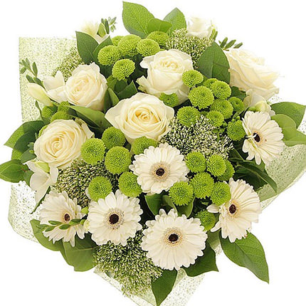 "Bouquet ""Gentle charm"" - order with delivery"