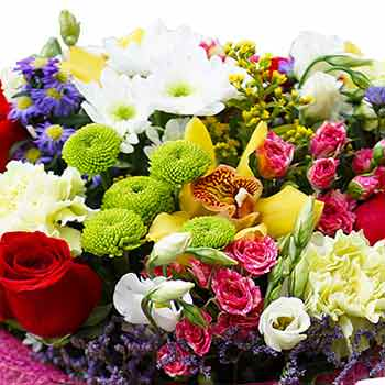 "Bouquet ""Flower mix"" - delivery in Ukraine"
