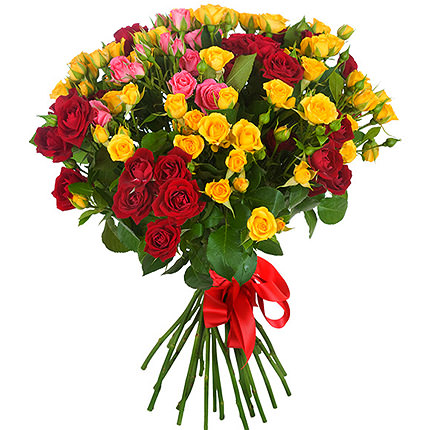 "Bright bouquet ""Inspiration"" - delivery in Ukraine"