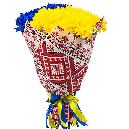 """Букет """"Украина навсегда!"""" - доставка по Украине"""