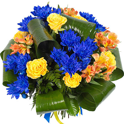 "Bouquet ""Ukrainochka"" - order with delivery"