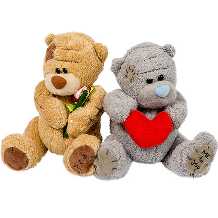 "Bears ""Sweet Couple"" - delivery in Ukraine"