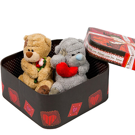 "Bears ""Sweet Couple"" - order with delivery"